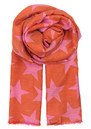 Supersize Nova Scarf - Flamingo additional image