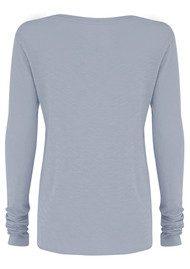 American Vintage Jacksonville Long Sleeved T-Shirt - Lavender