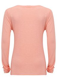American Vintage Jacksonville Long Sleeved T-Shirt - Rose