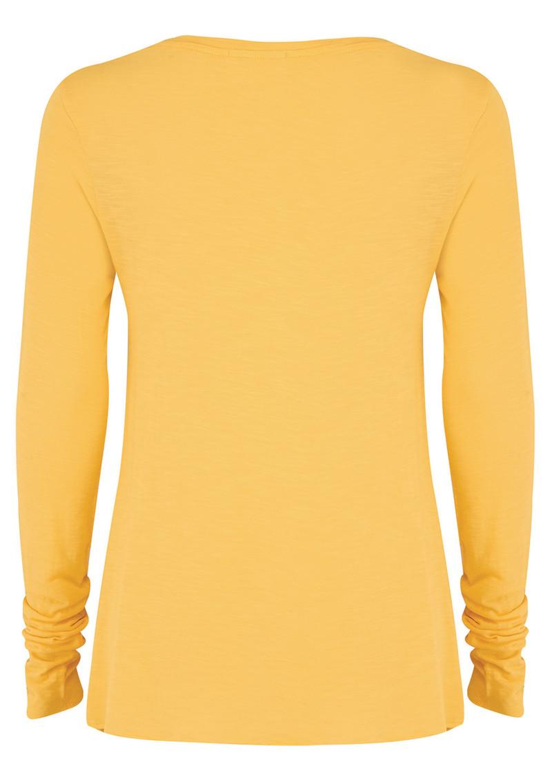 American Vintage Jacksonville Long Sleeved T-Shirt - Solar main image