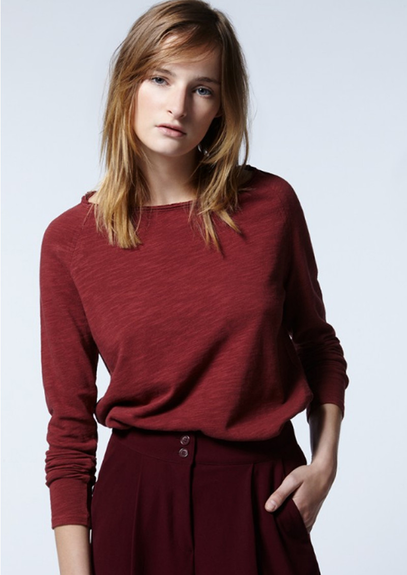 American Vintage Sonoma Long Sleeve Top - Sphere main image