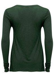 American Vintage Jacksonville Long Sleeved T-Shirt - Yucca