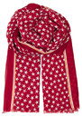 Etoiles Cotton Star Scarf - Scarlet Sage additional image