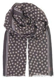 Becksondergaard Etoiles Cotton Star Scarf - Smokey