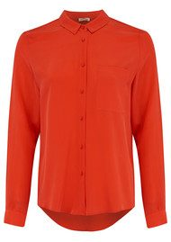 American Vintage Riswell Silk Shirt - Tulip