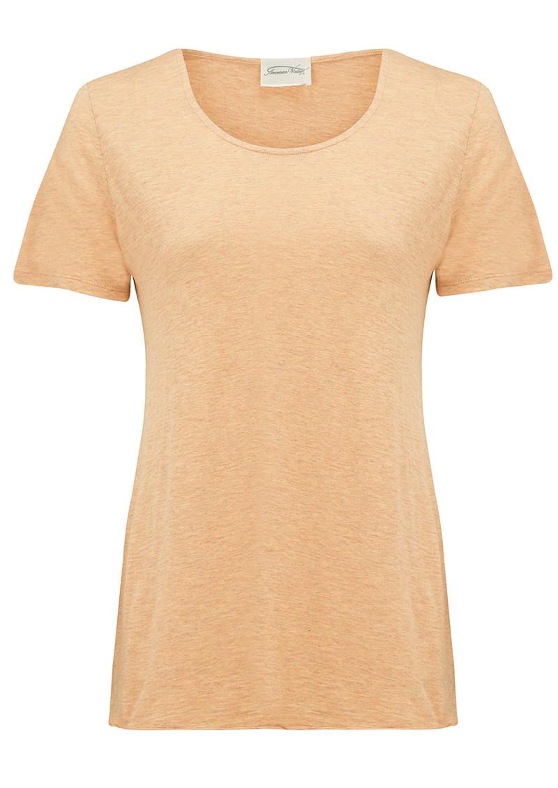 American Vintage Jacksonville Round Neck T-Shirt - Sahara main image