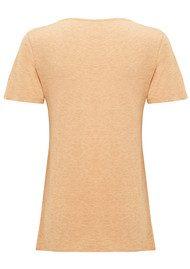 American Vintage Jacksonville Round Neck T-Shirt - Sahara