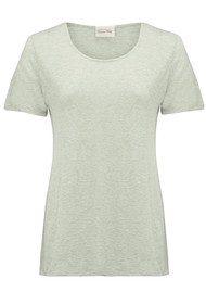American Vintage Jacksonville Round Neck T-Shirt - Foam
