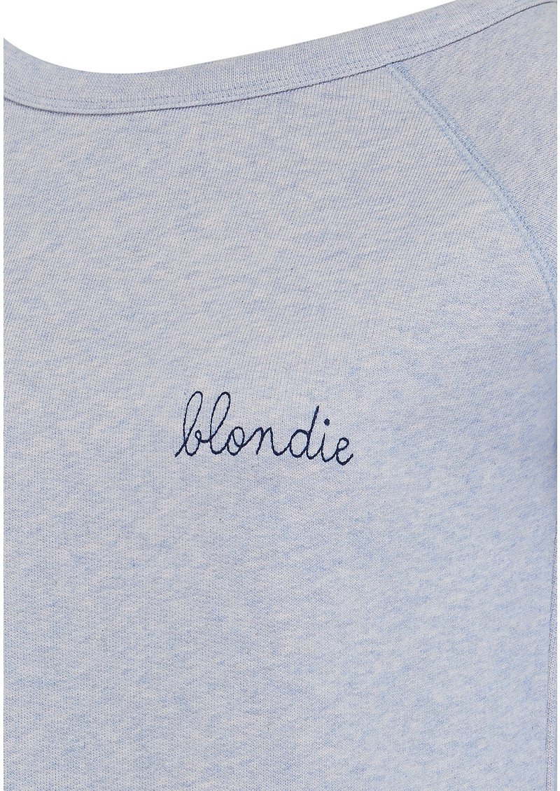 MAISON LABICHE Blondie Sweater - Sky Rose main image