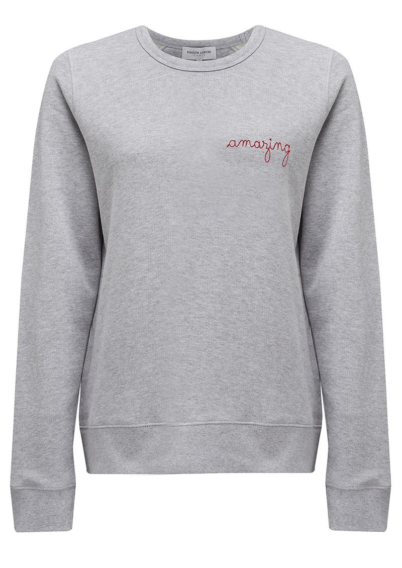 MAISON LABICHE Amazing Sweater - Grey main image