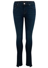 J Brand 811 Mid Rise Stepped Hem Jean - Disguise