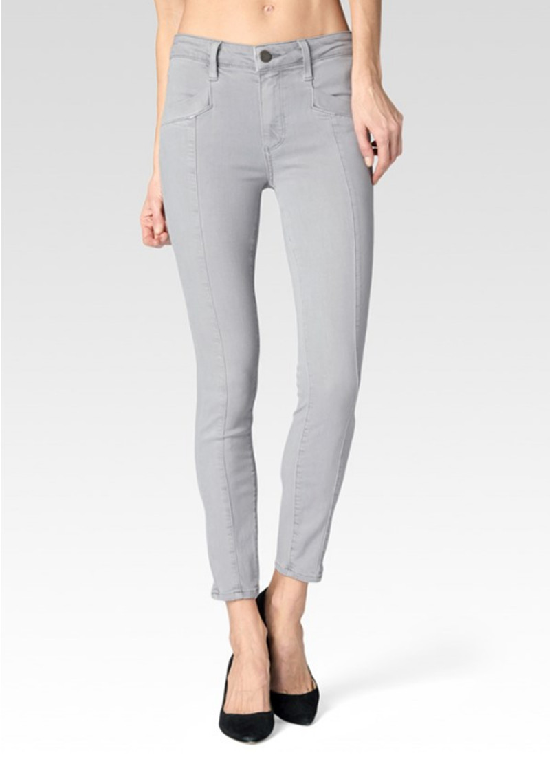 Paige Denim Roxxi Ankle With Seaming Jeans - French Grey main image