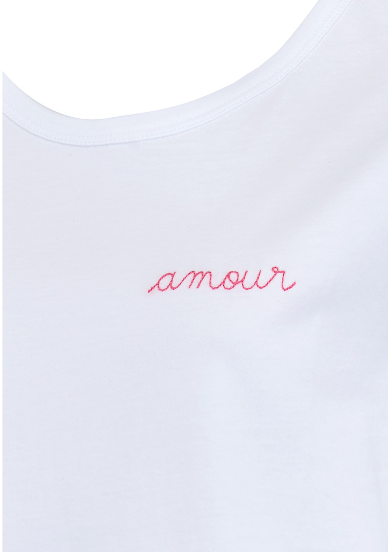 MAISON LABICHE Amour Tee - White main image