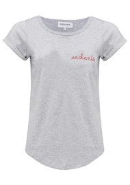 MAISON LABICHE Enchantee Tee - Grey