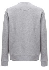 MAISON LABICHE L'Aventure Embellished Sweater - Grey