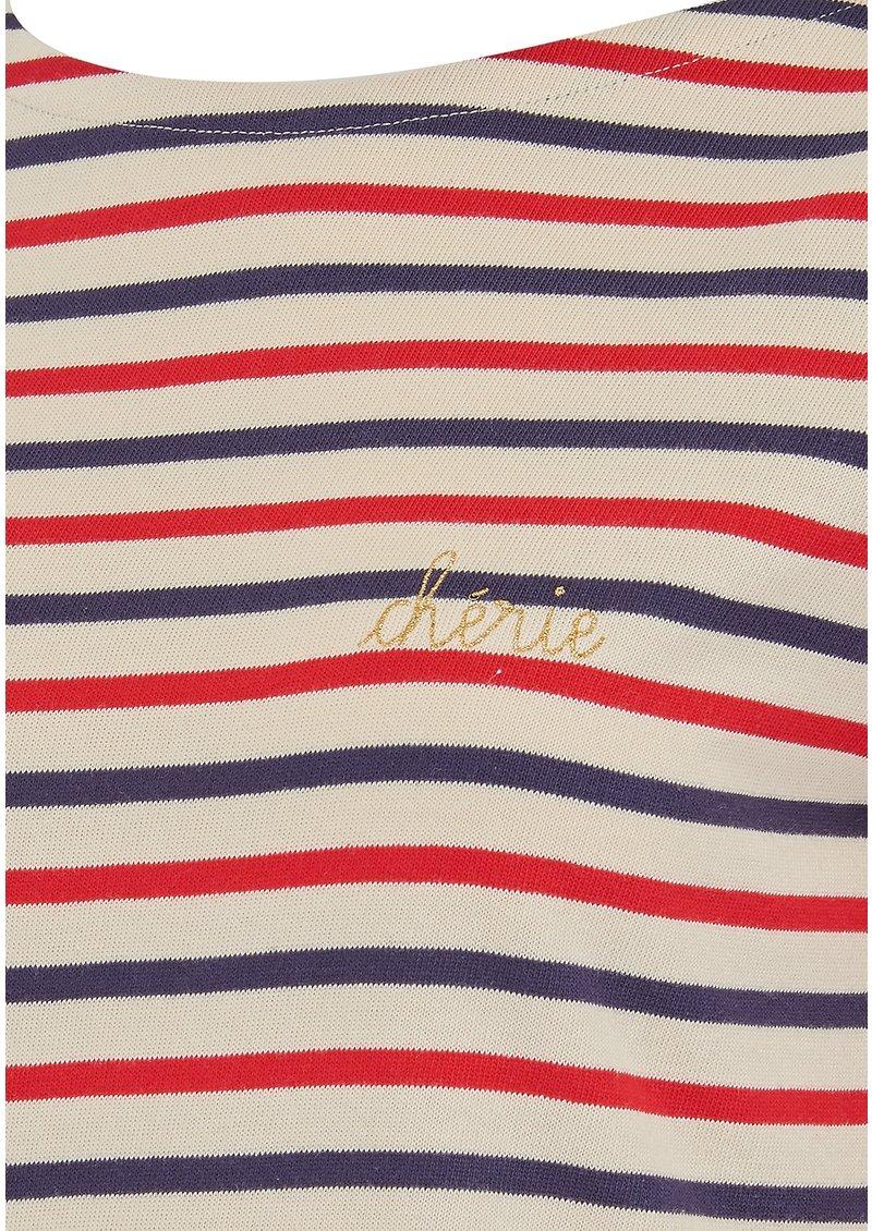 MAISON LABICHE Cherie Long Sleeve Top - Multi main image