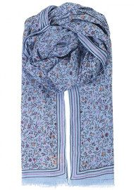 Becksondergaard Merle Cotton Scarf - Placid Blue
