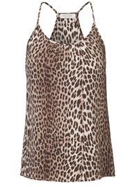 NOTES DU NORD Ava Strap Top - Leopard