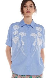 Essentiel Nuances2 Embroidered Shirt - Florida Keys