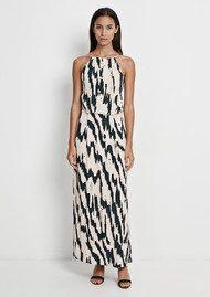 SAMSOE & SAMSOE Willow AOP Lace Long Dress - Edge
