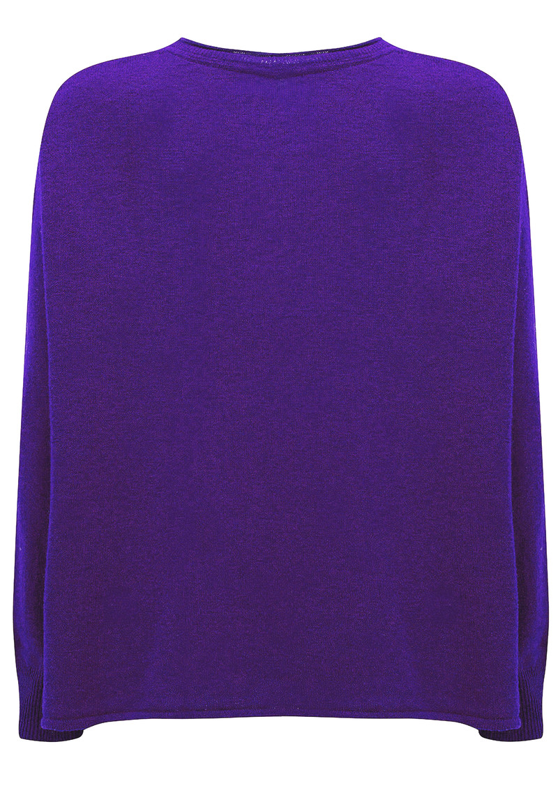 American Vintage Svansky Pullover - Dark Purple main image