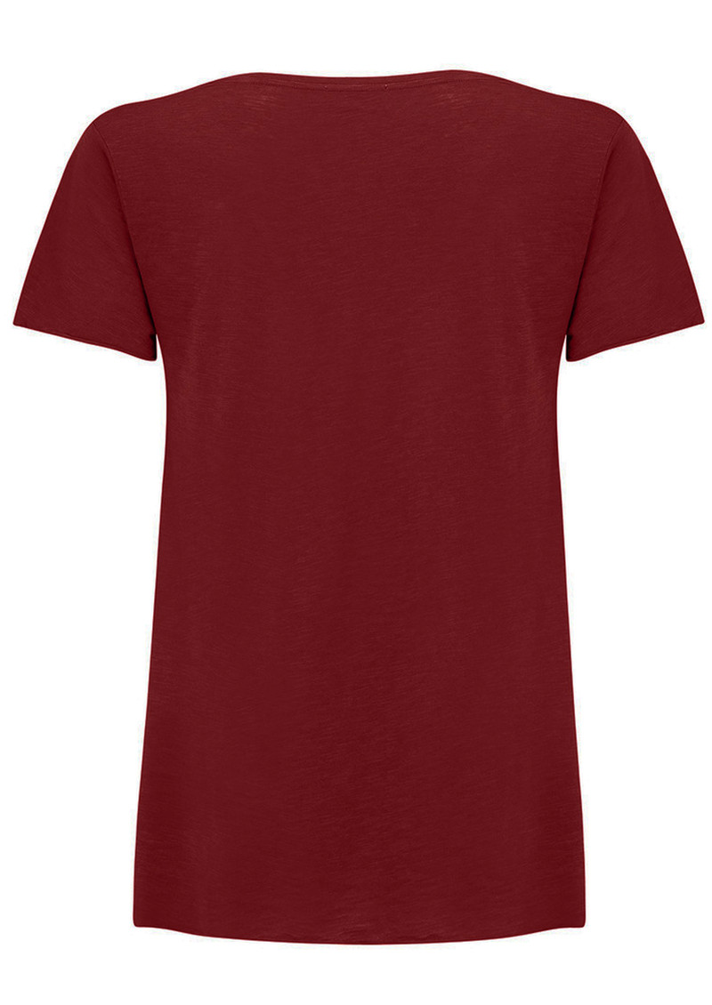 Jacksonville Short Sleeve Tee - Bordeaux main image