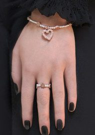 ChloBo Love You More Ring - Silver & Rose Gold