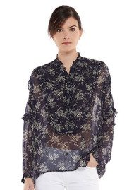 Essentiel Nomas Shirt - Atlantic Deep
