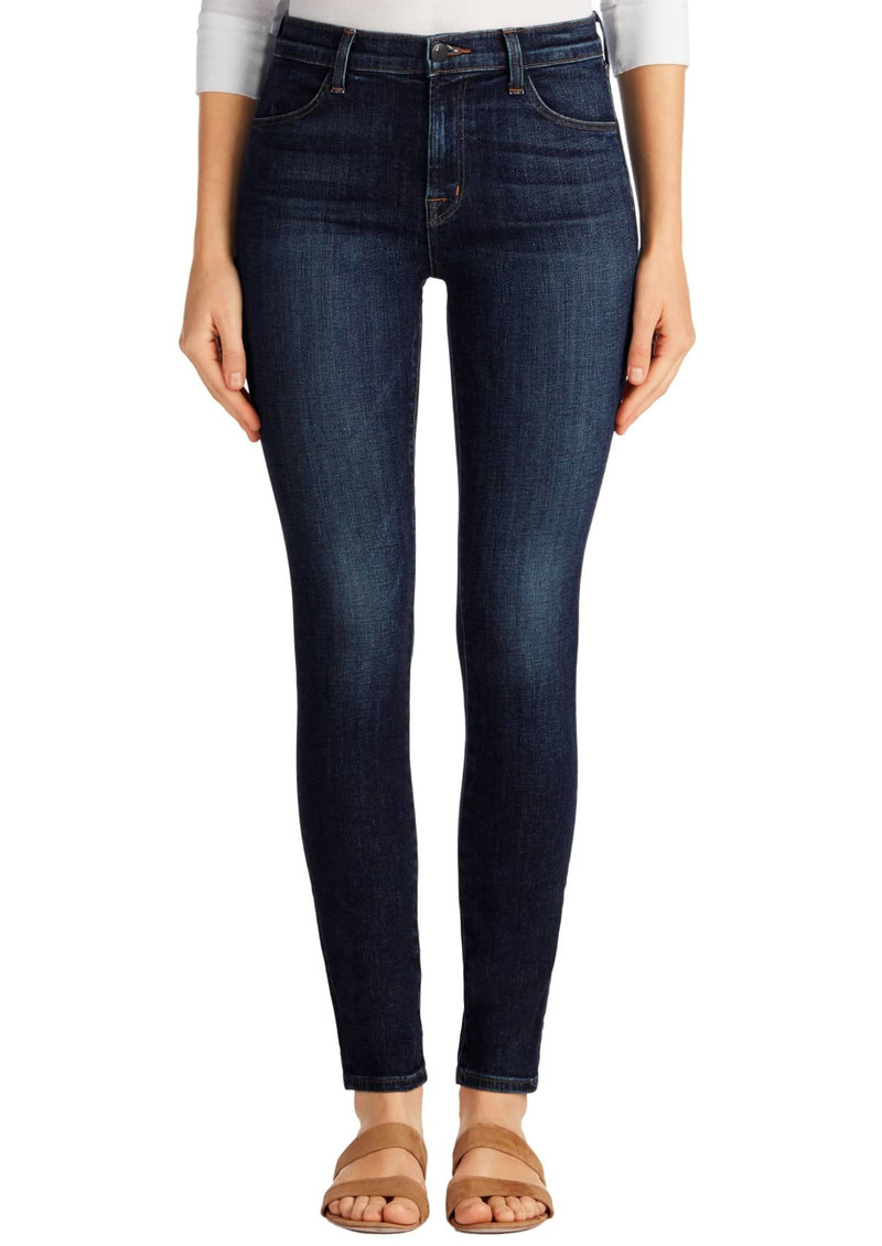 J Brand Maria High Rise Skinny Jeans - Mesmeric main image