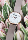 La Roche Rose Gold Watch - Grey & White additional image