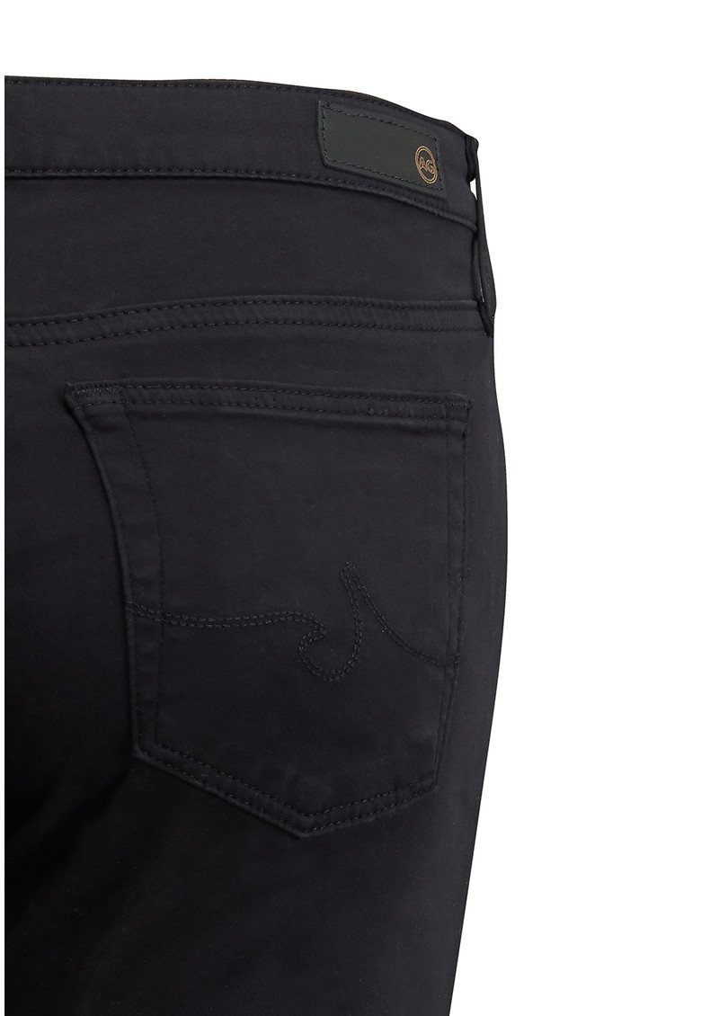 The Stilt Cigarette Sateen Jeans - Black main image