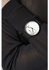 CLUSE La Roche Black Watch - White & Black
