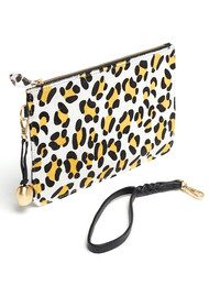 BELL & FOX Wristlet Pony Clutch - Sunshine Leopard