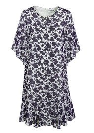 Essentiel Nasir Floral Dress - Atlantic Deep