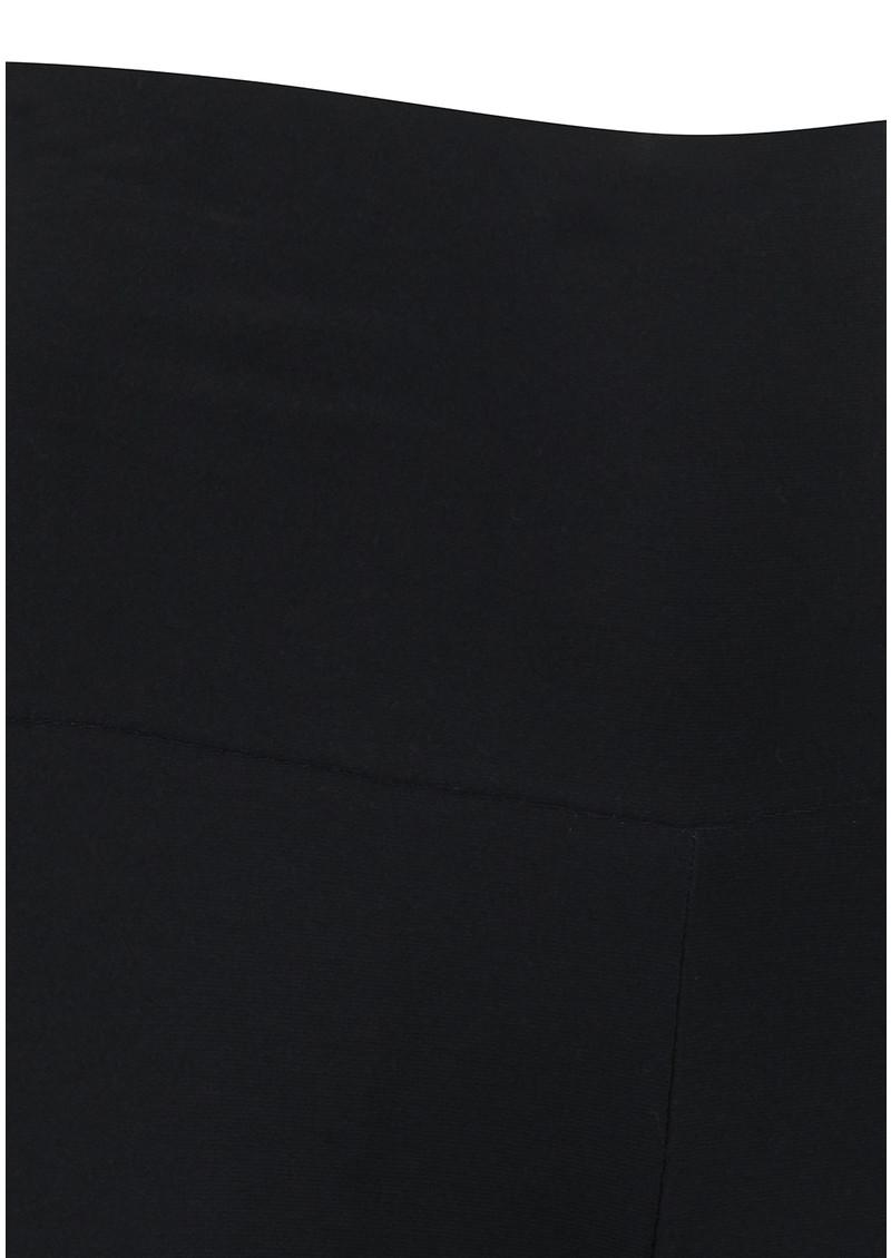NORMA KAMALI Straight Leg Pant - Black main image