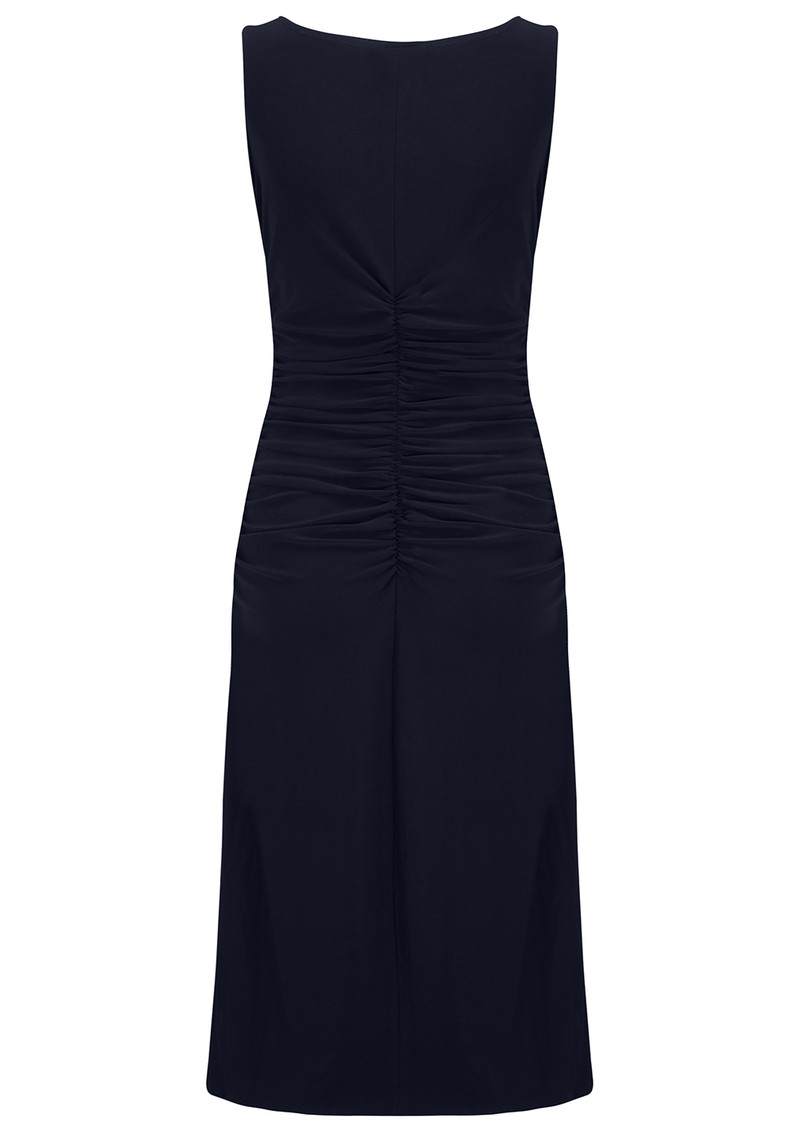NORMA KAMALI Shirred Waist Dress - Midnight main image