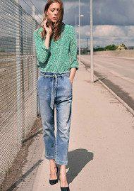 Callista Blouse - Silt Green