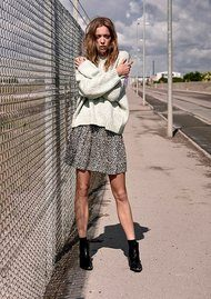 Fransiska Pullover - Silt Green