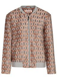 Amalia Bomber Jacket - Whisper White
