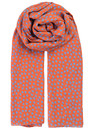 Fine Summer Star Scarf - Russet Orange additional image