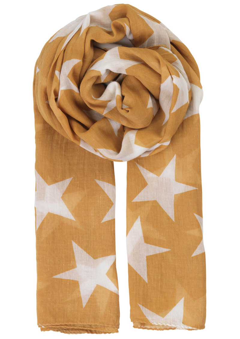 Becksondergaard Fine Twilight Scarf - Honey Yellow main image