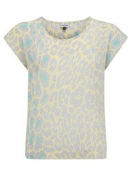 Mercy Delta Blair Safari Top - Meringue