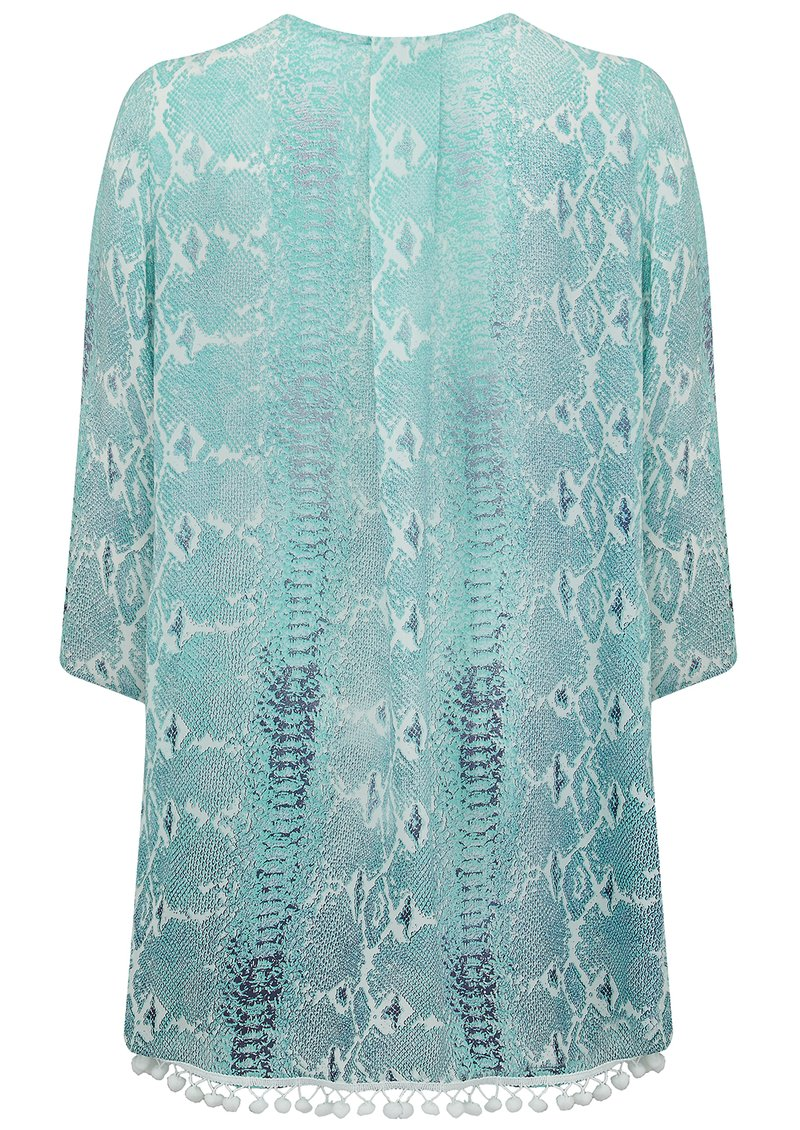 Mercy Delta Lampton Cover Up Top - Python Ombre Sea Breeze main image