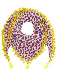 Mercy Delta Athena Pom Pom Scarf - Watermelon Sea Breeze