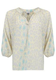 Mercy Delta Clevedon Safari Blouse - Meringue