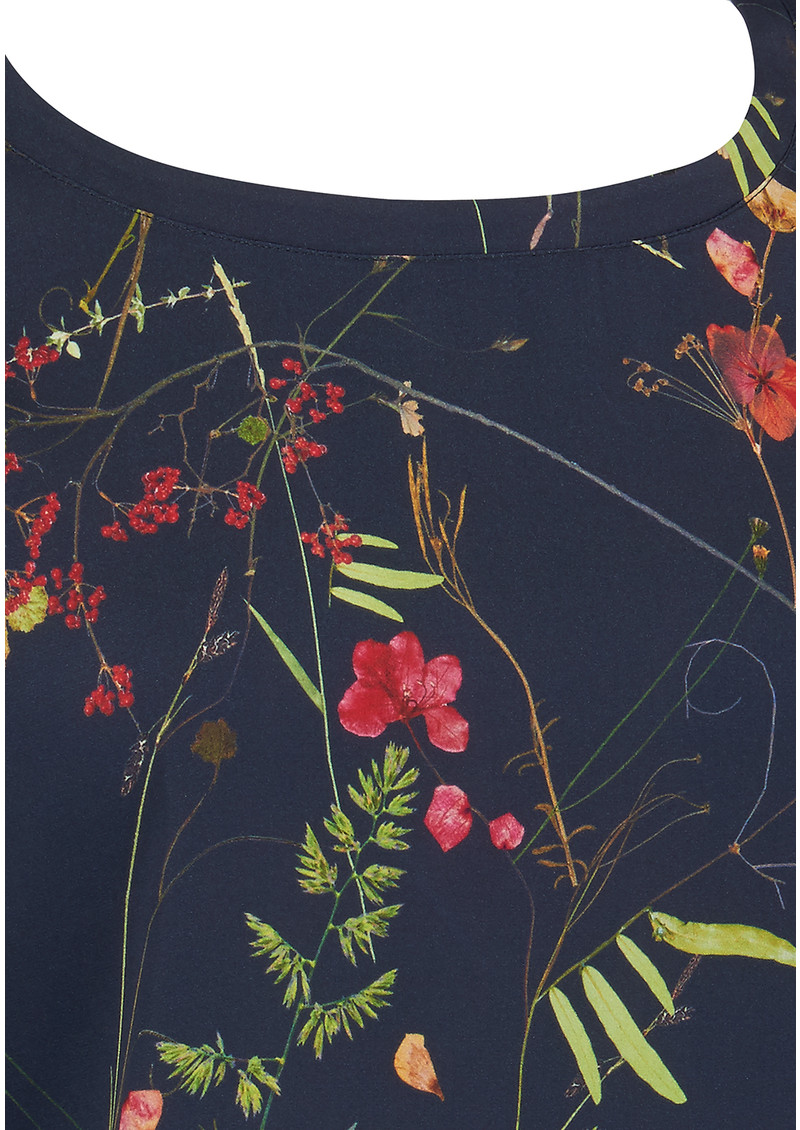 AHLVAR Kasumi Garden Top - Cold Blue main image