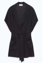 American Vintage Holiester Sleeveless Blazer - Black