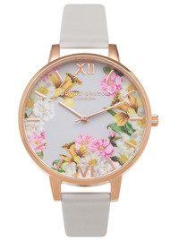 Olivia Burton Flower Show Floral Watch - Blush & Rose Gold