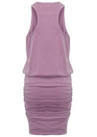 SUNDRY Sleeveless Dress - Pigment Plum