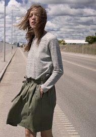 CUSTOMMADE Sinny Sweatshirt - Grey Melange